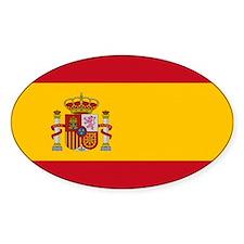 Spain Flag Decal