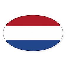 Netherlands Flag Decal