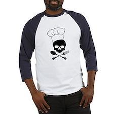 Skull & Crossbones Chef Baseball Jersey