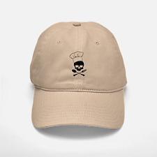Skull & Crossbones Chef Baseball Baseball Cap