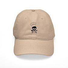 Skull & Crossbones Chef Baseball Cap