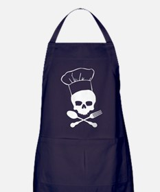 Skull & Crossbones Chef Apron (dark)