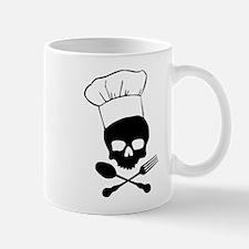 Skull & Crossbones Chef Coffee Mug