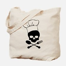 Skull & Crossbones Chef Tote Bag