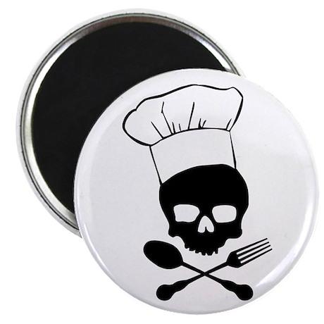 Skull & Crossbones Chef Magnet