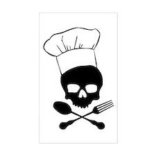 Skull & Crossbones Chef Decal