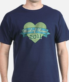 Heart Maid of Honor 2011 T-Shirt