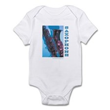 Saxophone Blues Infant Bodysuit