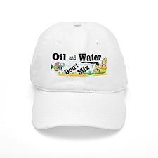 OIL & WATER Baseball Cap