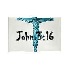 John 3:16 Rectangle Magnet (10 pack)
