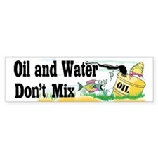 They Don't Mix! Bumper Sticker