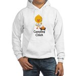 Camping Chick Hooded Sweatshirt