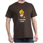 Camping Chick Dark T-Shirt