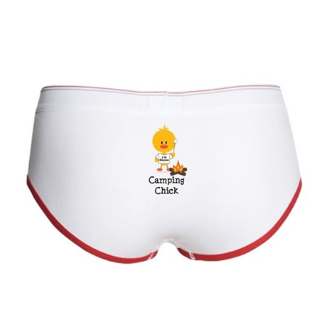 Camping Chick Women's Boy Brief