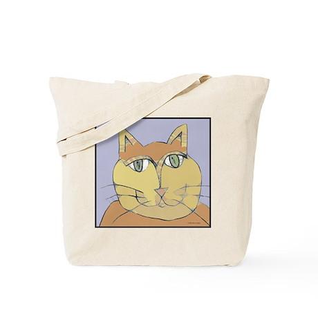 Spiral Cat Tote Bag