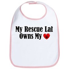Heart Owning Rescue Lab Bib