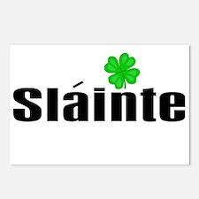 Cheers (in Irish) Postcards (Package of 8)