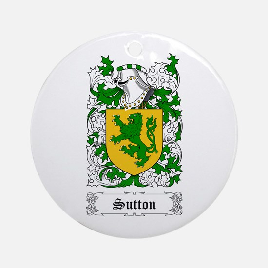 Sutton Ornament (Round)