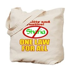 One Law For All Tote Bag