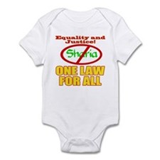 One Law For All Infant Bodysuit