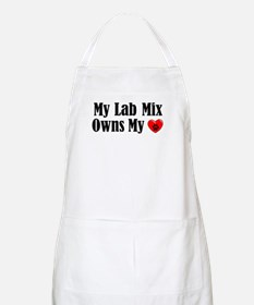 Heart Owning Lab Mix Apron