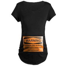 Warning - belly T-Shirt