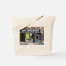 BILL'S DISCOUNT STORE Tote Bag