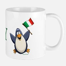 Italy Penguin Mug