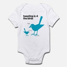 4 The Birds Infant Bodysuit