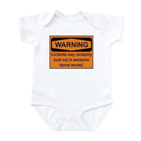 Warning Infant Bodysuit