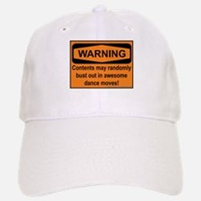 Warning Baseball Baseball Cap