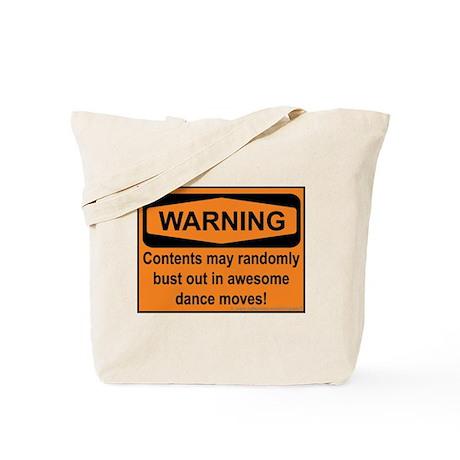 Warning Tote Bag