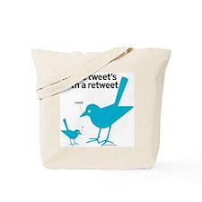 Retweet Tote Bag