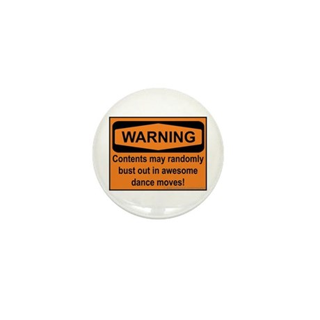 Warning Mini Button (100 pack)