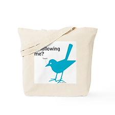 R U Following? Tote Bag