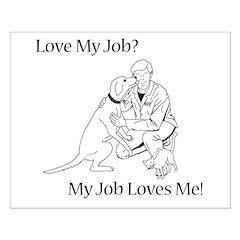 Veterinary Design (Male) Posters