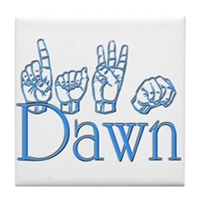 Dawn Tile Coaster