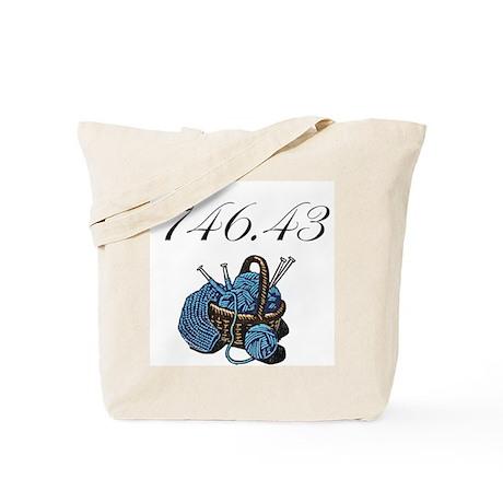 Dewey Knitting Tote Bag