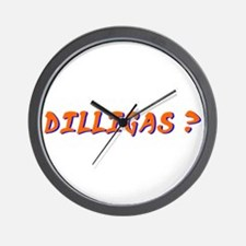 dilligas Wall Clock