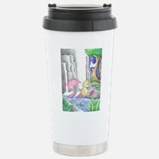 Water Garden - Mermaid Cat Stainless Steel Travel