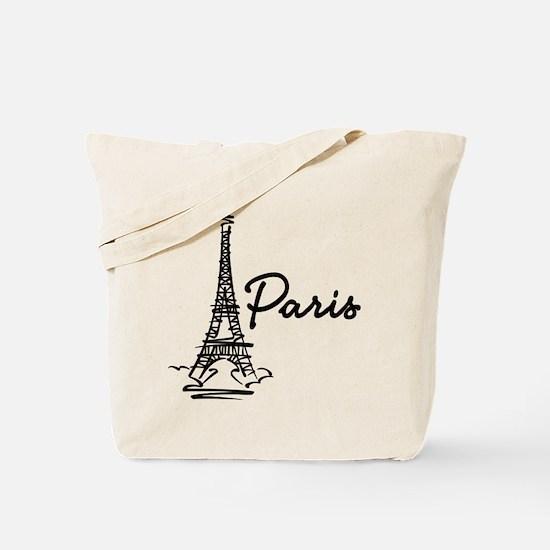 Paris Tote Bag