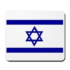 Israel & Jerusalem Flag Mousepad