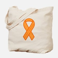 Orange Ribbon Tote Bag