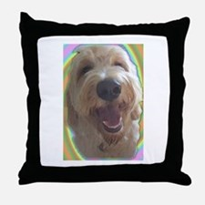 Dreamy Dog Throw Pillow