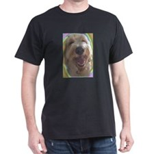 Dreamy Dog Black T-Shirt