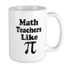 Vintage Math Teachers like Pi Mug