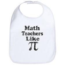 Vintage Math Teachers like Pi Bib