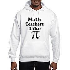 Vintage Math Teachers like Pi Hoodie