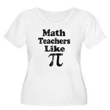 Vintage Math Teachers like Pi T-Shirt