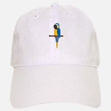Blue and Gold Macaw Baseball Baseball Cap